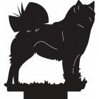 Finnish Spitz Dog Weathervane