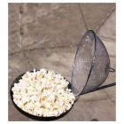 Fire Pit Popcorn Pan With top Opening Lid