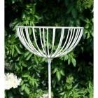 Round Flower Basket on Spike
