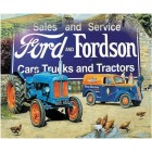 Ford & Fordson Metal Sign