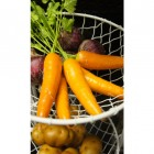 """Clementine Avenue"" Wrought Iron Fruit and Vegetable Rack"