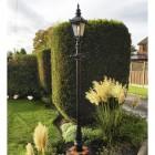 Harrogate Lamp post set - garden landscaping
