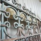 """Kepner Manor"" Large Iron Driveway Gates"