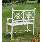 Scrolled Garden Bench
