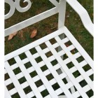 Lattice Garden Bench