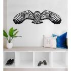 Geometric Barn Owl Wall Art in Situ in the Home