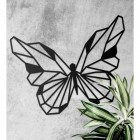 Contemporary Butterfly Geometric Wall Art