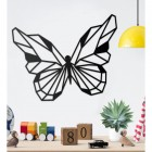 Contemporary Geometric Butterfly Wall Art