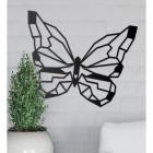 Wall Art of Geometric Butterfly
