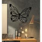 Geometric Butterfly Wall Art in Situ