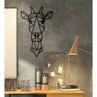 Geometric Wall Art of Giraffe Head