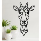 Giraffe Head Wall Art
