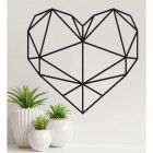 Geometric Heart Wall Art
