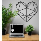 Geometric Love Heart in situ
