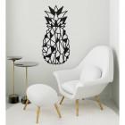 Geometric Steel Pineapple Wall Art in the Home in a Modern Sitting Room