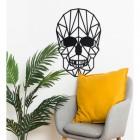 Geometric Skull Wall Art