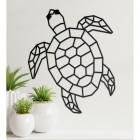 Geometric Sea Turtle Wall Art