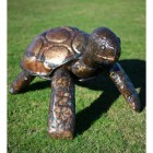 Giant Tortoise Sculpture Created From Recycled Metal