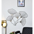 """Ginkgo leaves"" Wall Art in a Bronze Finish"