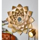 Golden Flower Mirror in Situ in the Sitting Room
