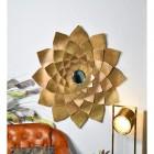 Golden Flower Mirror in Situ