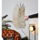 Golden Palm Leaf Wall Art