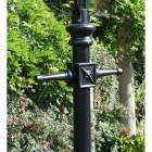Antique Brass Dorchester Lamp Post & Lantern Set 3.7m