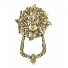 Polished Brass Goddess Door Knocker
