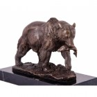 """Bainbridge"" Grizzly Bear Salmon Hunting Ornament"