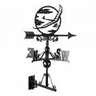 Hang Glider Weathervane Made From Cast Iron
