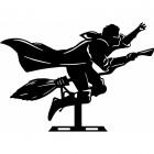 Flying Wizard Weathervane