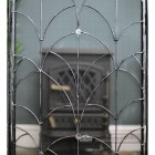 Heavy Duty Silver Wash Fire Guard With Period Detailing