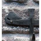 Blacksmith Scroll Design on the 'Hornchurch' Hook Rail