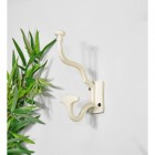 'Madame Anouk' Cream Hook with Wide Coat Holder