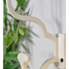 Close up of 'Madame Anouk' Cream Hook