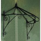Honeysuckle cottage Over Door Canopy hand made in Wrought Iron