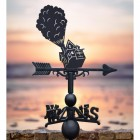 Weathervane with House of Balloons
