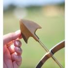 Brass Arrow to Scale