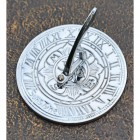 Bright Chrome Finish Mini Sundial