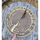 Old Father Time Sundial in Situ