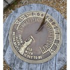 Old Father Time Sundial