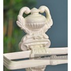 Ornate Urn Shaped Design on the Top of the Umbrella stand