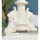 Close-up of the Ornate Detail on the Base of the Umbrella Stand