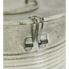 Detailed image of clasp for lid on bucket