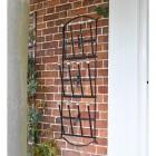 'Edcote' Black Wall Mounted Boot Rack