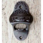 "Iron Bottle Opener With ""Hull Brewery"" Design"
