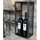 Wine Bottles in Situ on the Wall Mounted CAbinet