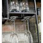Close-up of the wine Glass Holder