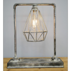 Industrial Pipe Style Desk Lamp
