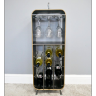 Industrial Style Wine Cabinet